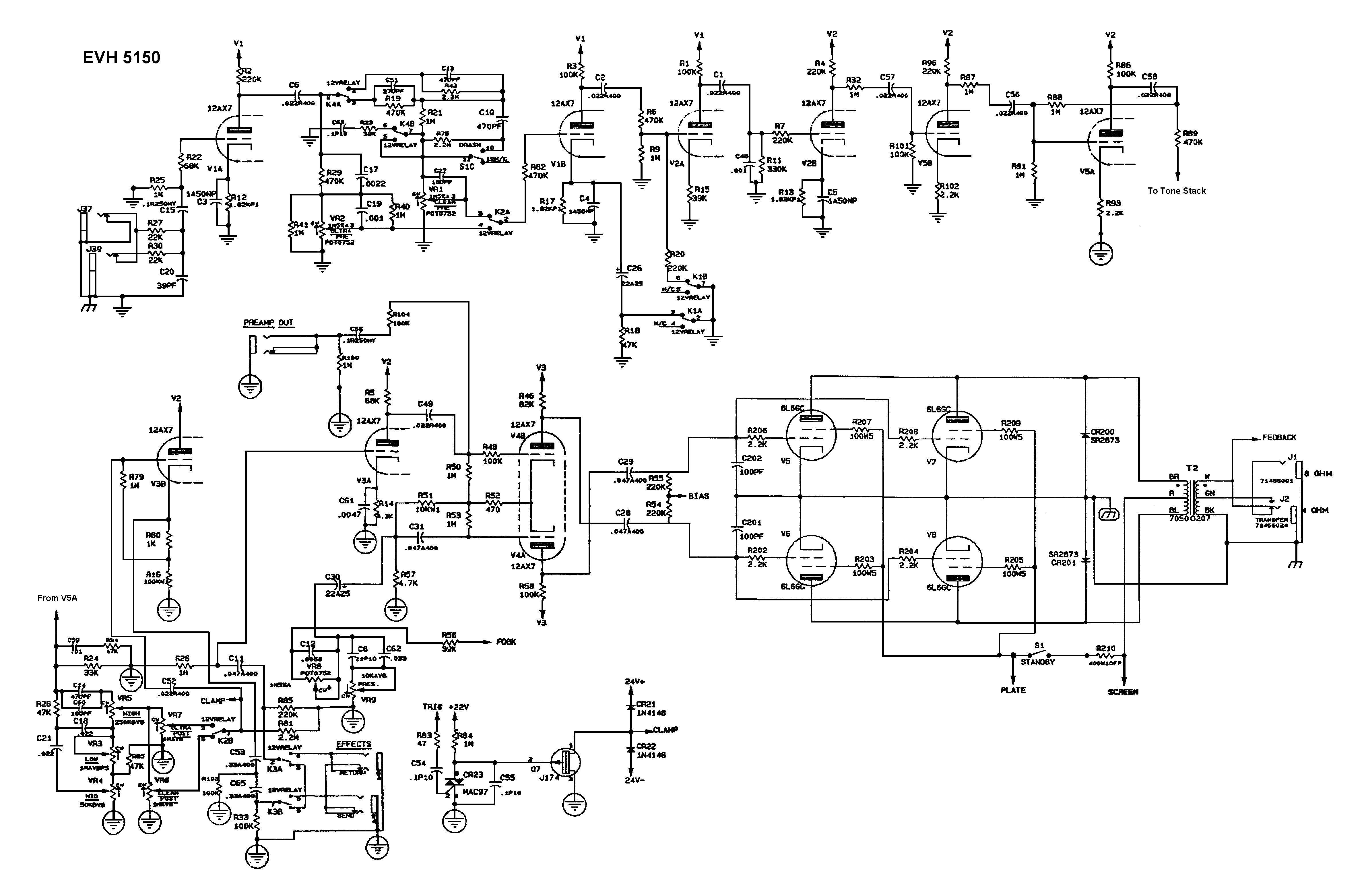 TO_6804] Peavey T 60 Wiring Diagram Wiring Diagram
