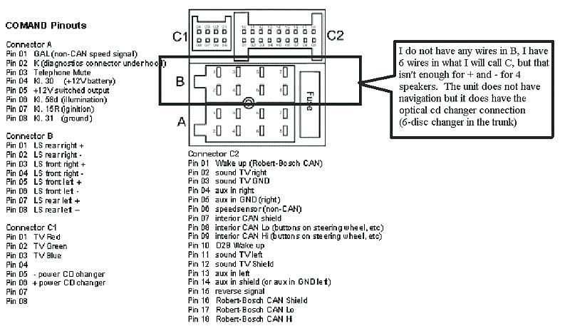 2002 Mercedes C230 Amplifier Wiring Diagram Pictures