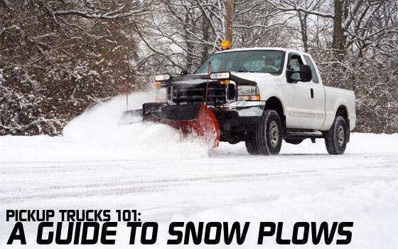 Stupendous Pickup Trucks 101 A Guide To Snow Plows Pickuptrucks Com News Wiring Cloud Domeilariaidewilluminateatxorg