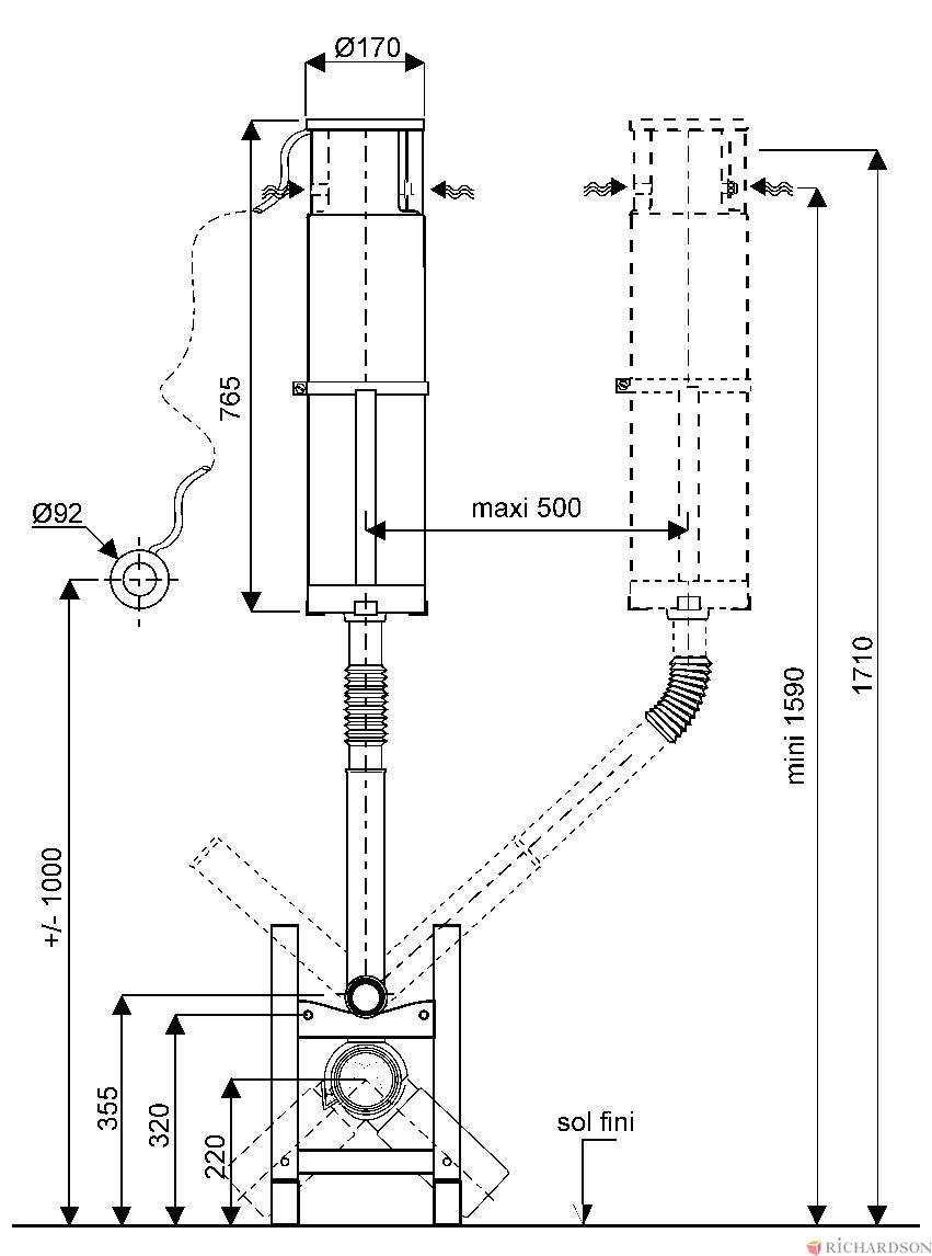 Enjoyable Broyeur Wc Auto Electrical Wiring Diagram Wiring Cloud Rineaidewilluminateatxorg