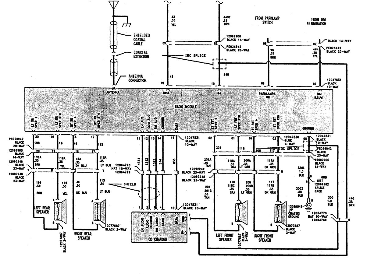 2004 Saturn Ion Electrical Schematic