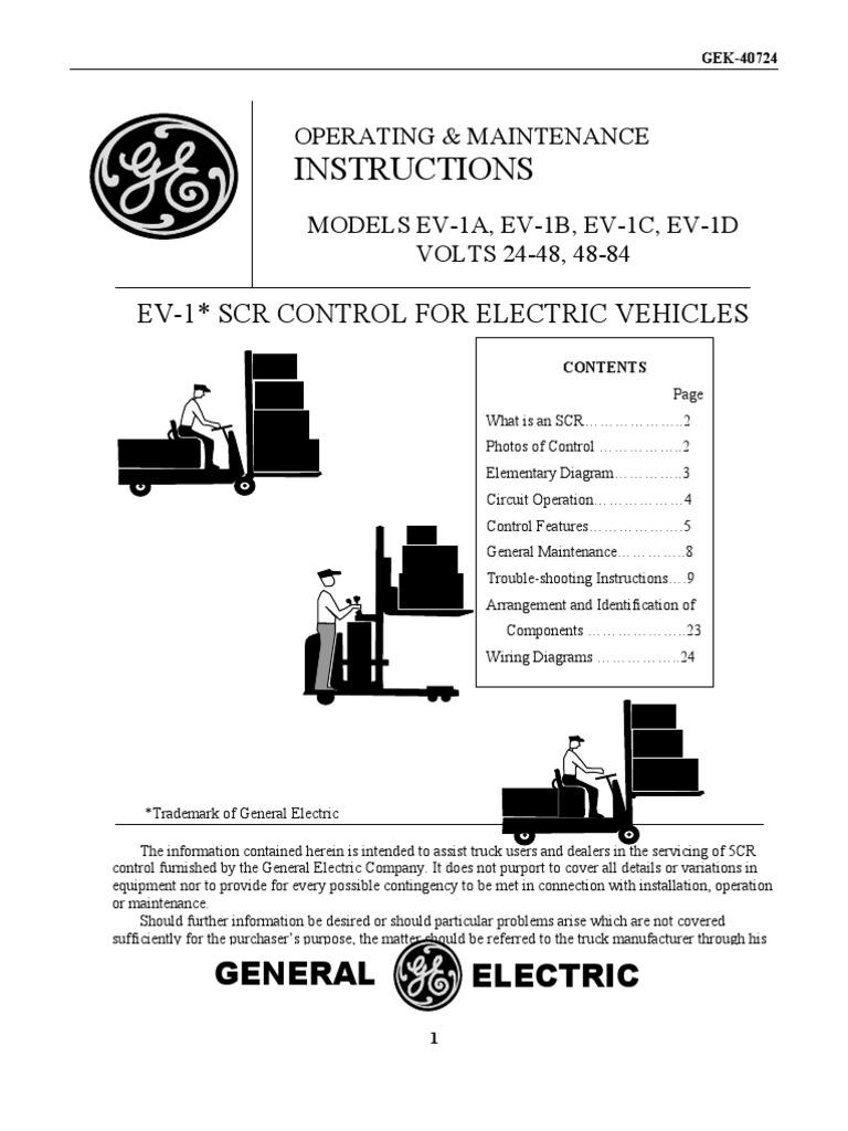 Awe Inspiring Ev1 Scr Motor Controller Electric Current Inductance Wiring Cloud Ostrrenstrafr09Org