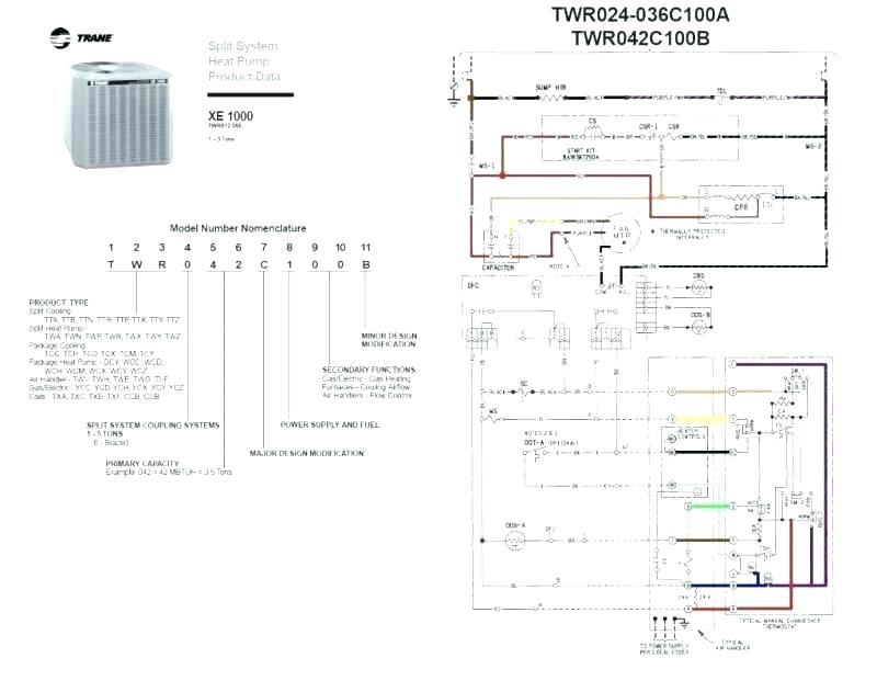 trane hvac system wiring diagram ground fault indicator