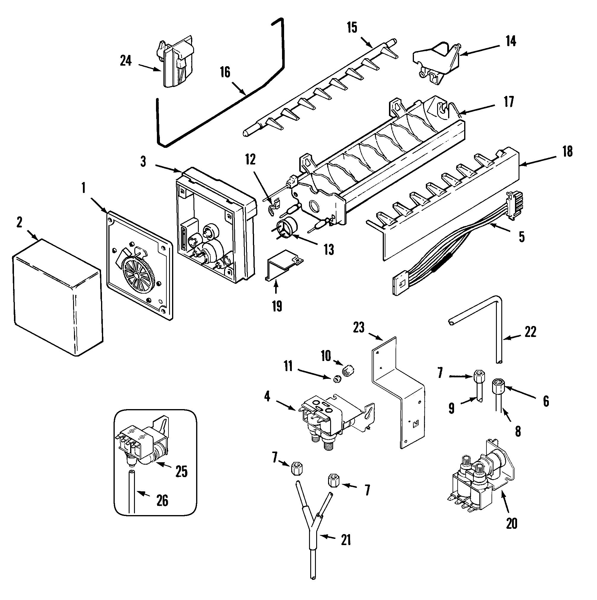 VB_0240] Wiring Diagram Freezerless Refrigerator Schematic Wiring