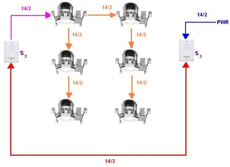 WD_0948] Wiring Diagram For Recessed Lights In Parallel Wiring DiagramSple Rosz Argu Joni Viewor Mohammedshrine Librar Wiring 101