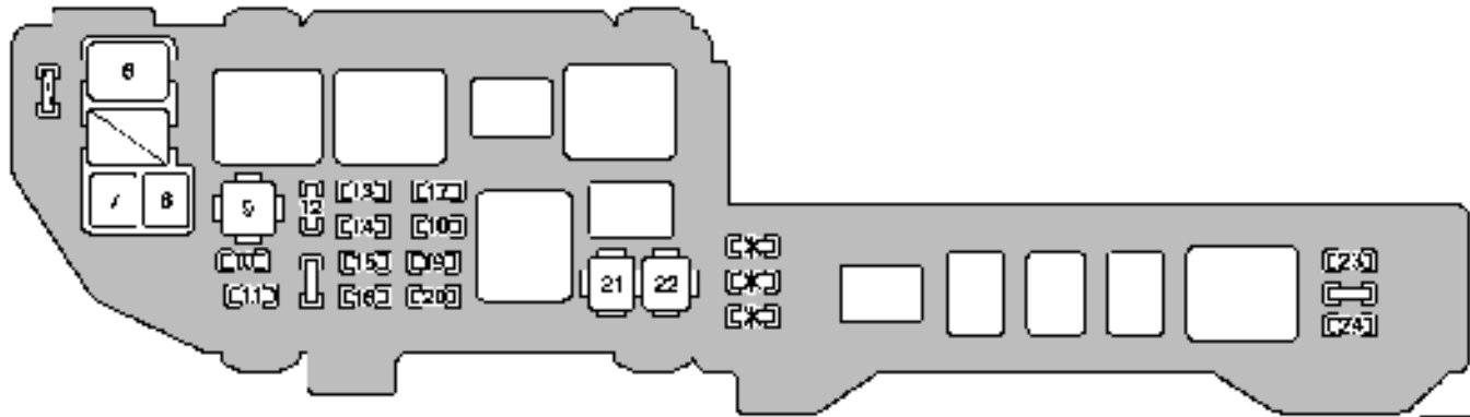 Enjoyable Lexus Es300 Fuse Box Diagram Wiring Diagram Database Wiring Cloud Hemtshollocom