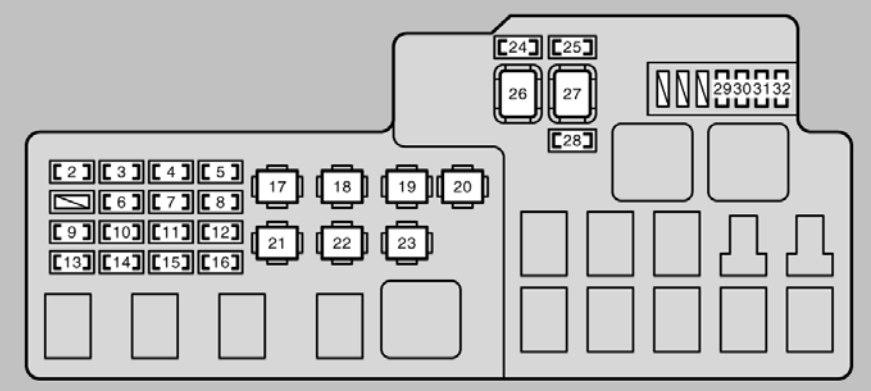 Brilliant Lexus Es300 Fuse Box Diagram Wiring Diagram Database Wiring Cloud Picalendutblikvittorg