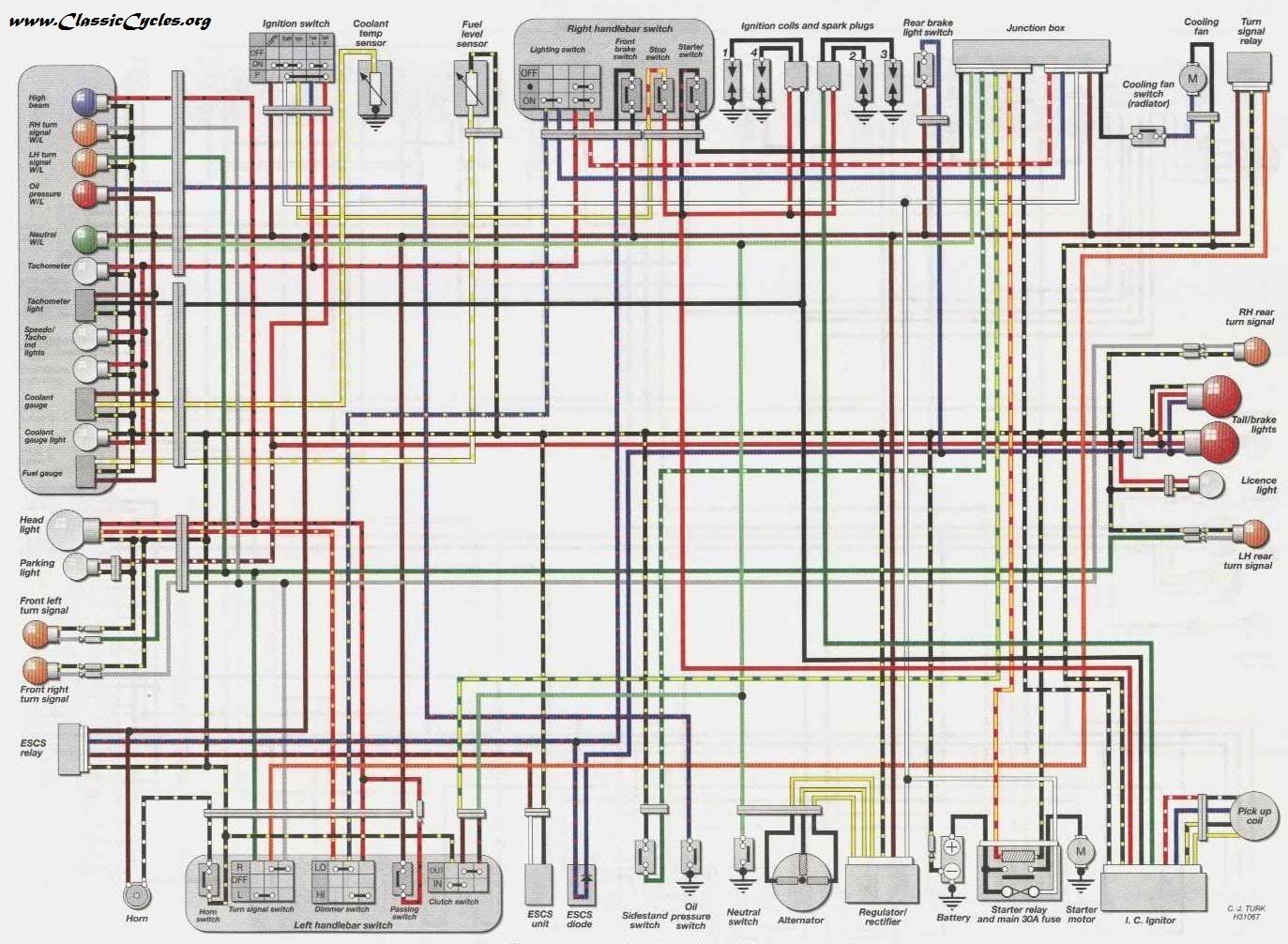Ninja 750 Wiring Diagram