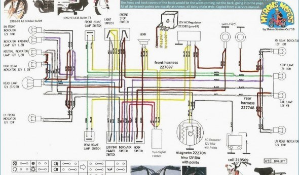 Honda Wave 125 Headlight Wiring Diagram