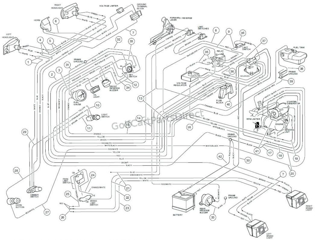 Club Car Wiring Diagram Lights In Dash 2001 Crown Vic Fuse Diagram Bege Wiring Diagram