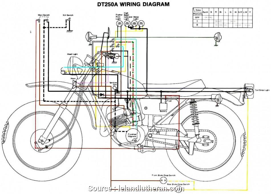 cb8001 yamaha motorcycle electrical wiring diagram wiring