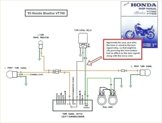 1985 Honda Shadow Wiring Diagram