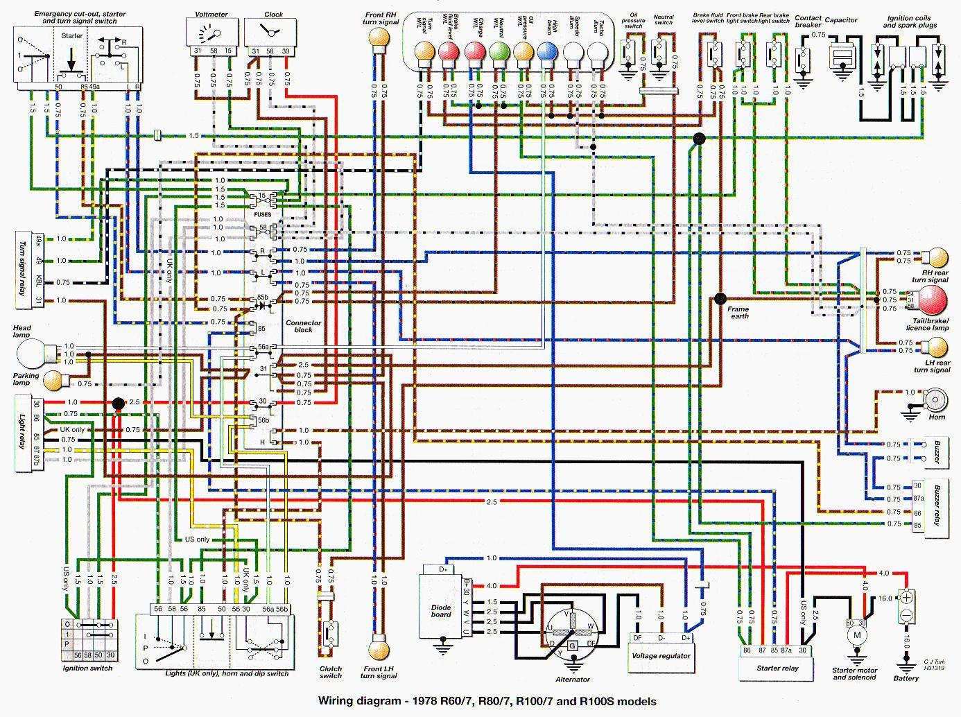 Ea 5648 Rusi Motorcycle Wiring Diagram Schematic Wiring