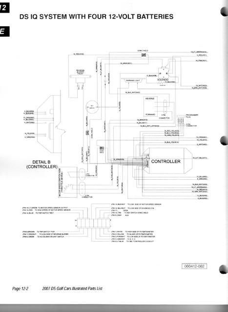 dv9053 club car precedent wiring diagram pdf download diagram