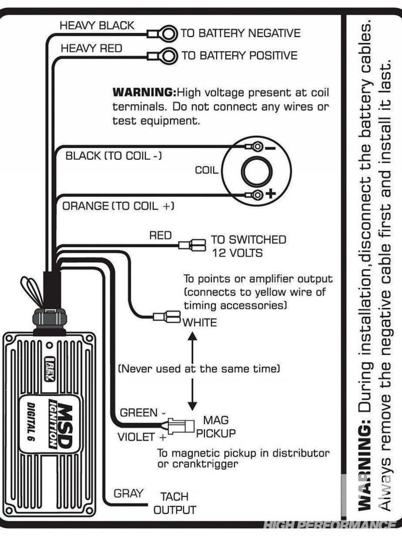 Msd 6a Wiring Diagram Chevy Hei