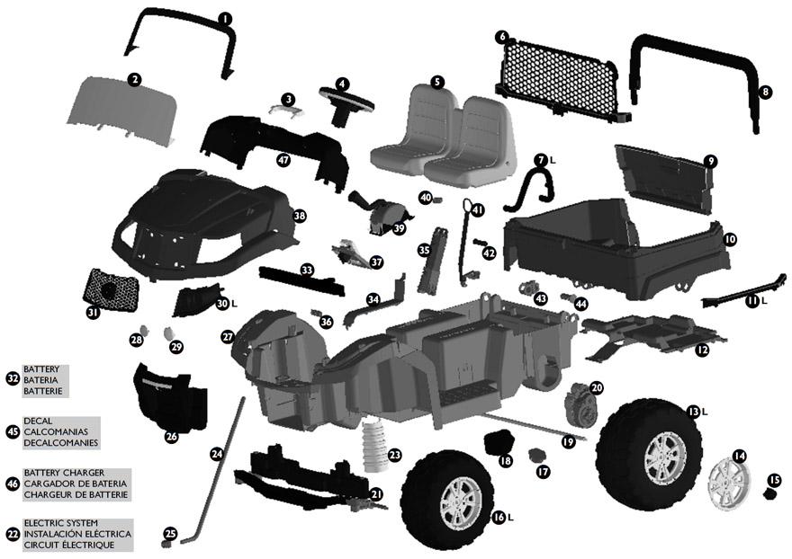Ar 1547  John Deere Gator Fuse Box Diagram Schematic Wiring