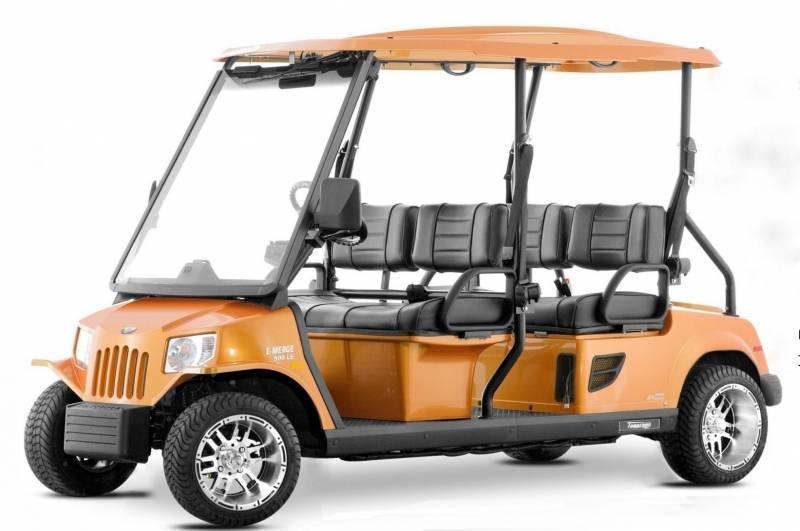 Wm 0228  2010 Tomberlin E Merge Le Electric Vehicle Golf
