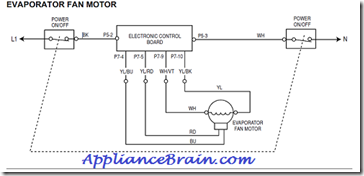 Yy 3379 Wiring Diagram For An Evaporator Fan Motor Schematic Wiring