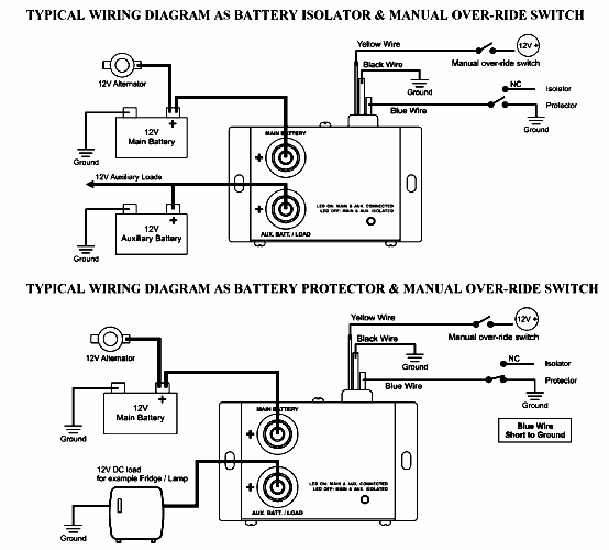 FR_4633] Wiring Diagram Cole Hersee Battery Isolator Wiring Diagram Cole  Hersee Wiring Diagram | Battery Isolator 48160 Wiring Diagram |  | Aryon Stic Barba Rele Mohammedshrine Librar Wiring 101