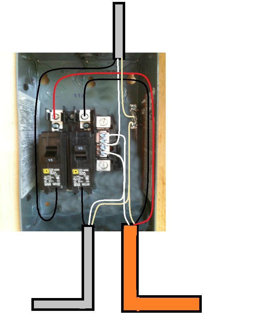 [SV_1405] Wire Breaker Panel Moreover Square D 8536 Motor