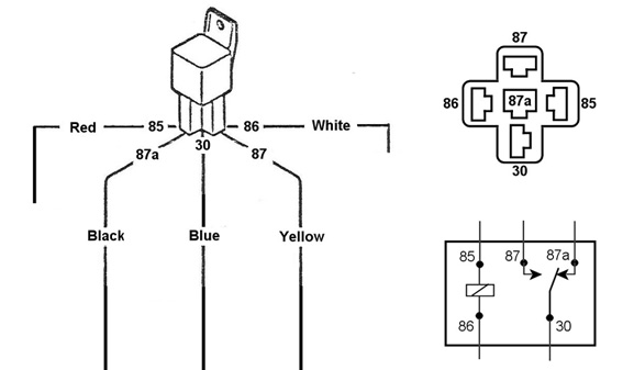 br5573 12v relay wiring diagram on wiring diagram for