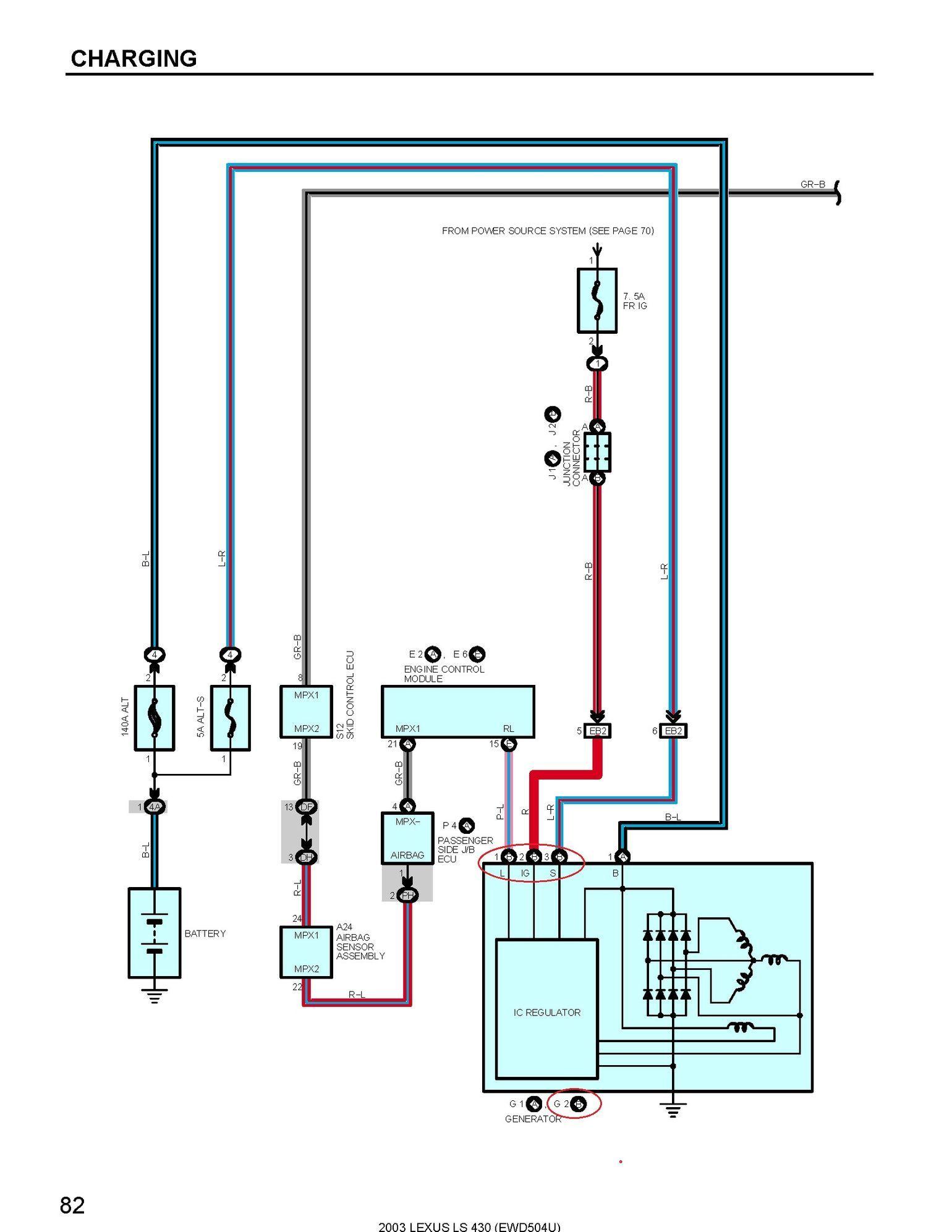 Ks 8410 1990 Lexus Ls400 Radio Circuit And Wiring Diagram