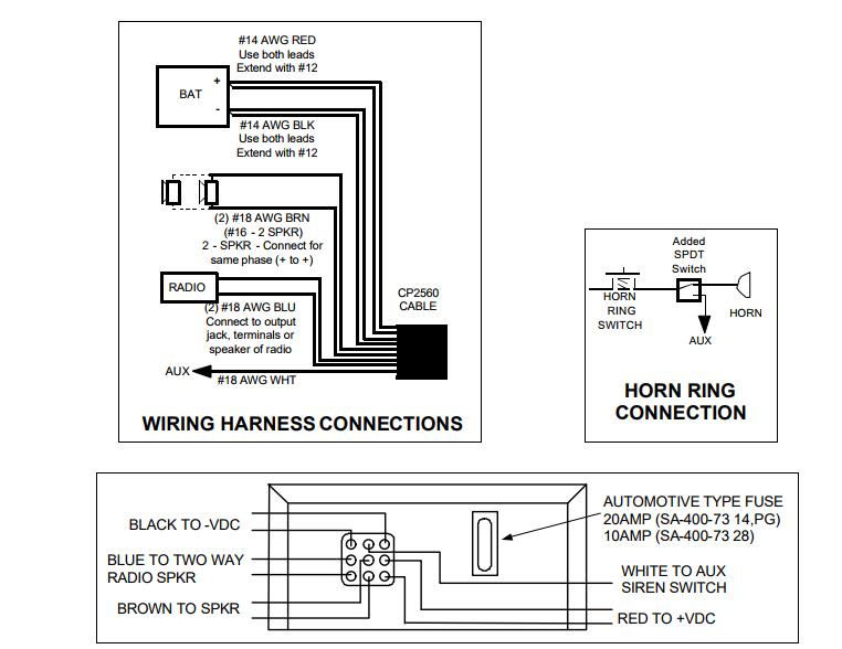 Whelen Ws 295 Siren Wiring Diagram