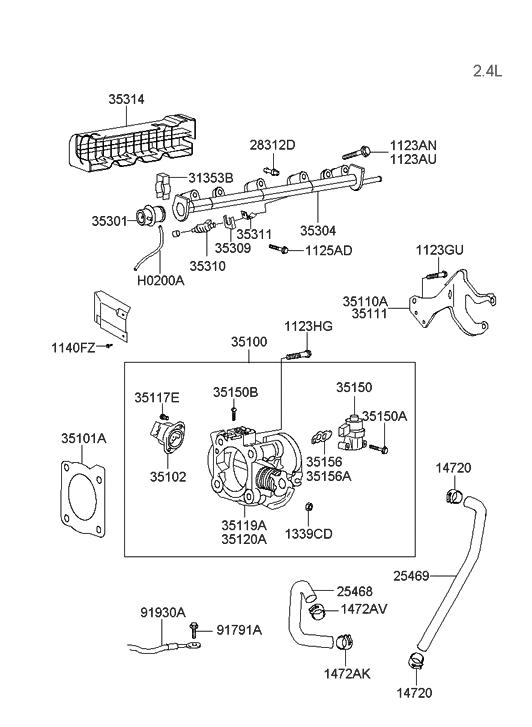 lw4232 hyundai santa fe 4 cyl engine diagram wiring diagram