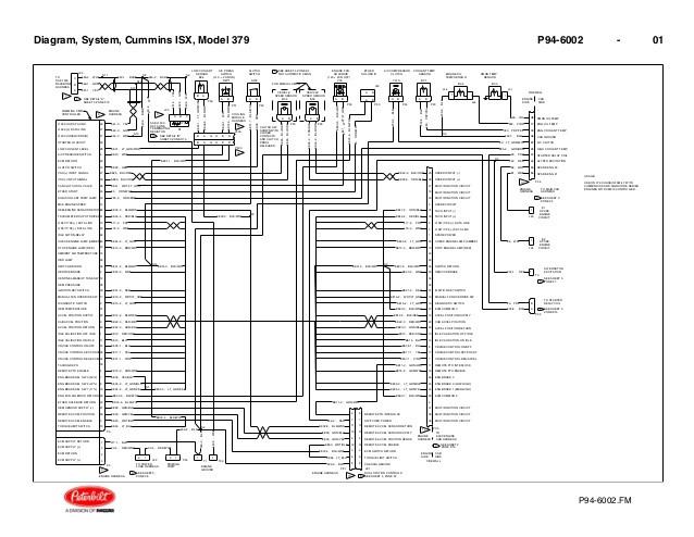 HY_0884 Cummins Isx Ecm Wiring Diagram On Peterbilt Oil ...