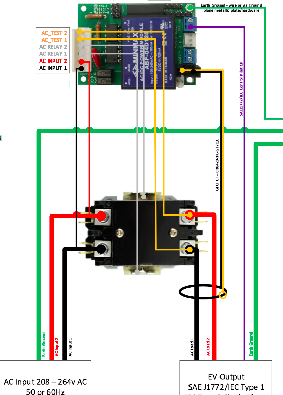 2 Pole Definite Purpose Contactor Wiring Diagram