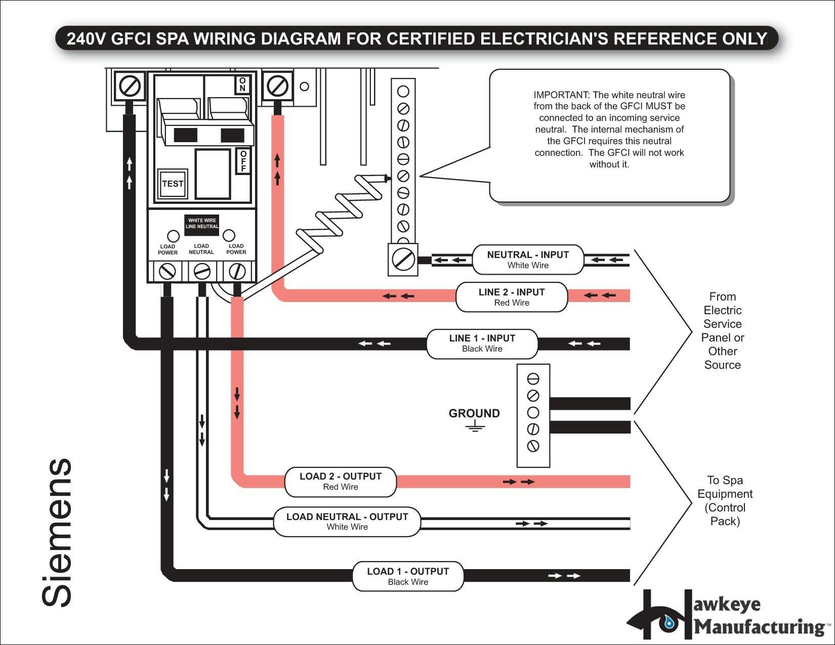 DE_4416] Photo Gallery Of The 2 Pole Gfci Breaker Wiring Diagram Schematic  WiringWned Adit Denli Lous Heeve Mohammedshrine Librar Wiring 101