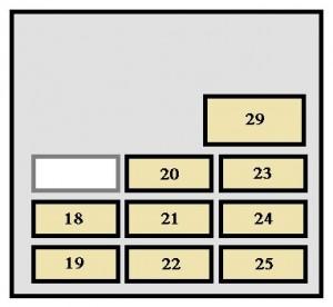 4runner fuse box diagram tz 5811  toyota 4runner fuse box location and diagram how to 2012 4runner fuse box diagram tz 5811  toyota 4runner fuse box