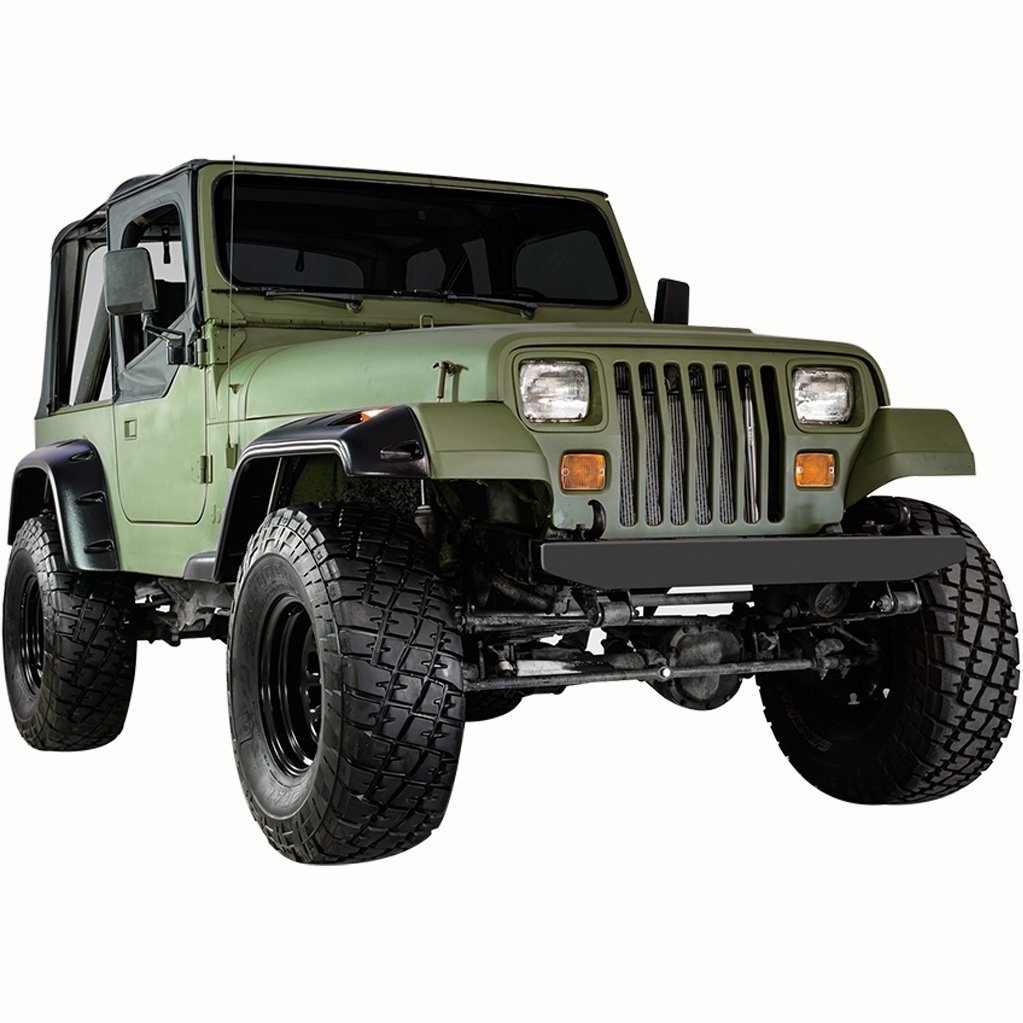 Swell Pocket Rivet Style Front And Rear Fender Flares For 1987 1995 Jeep Wiring Cloud Licukaidewilluminateatxorg