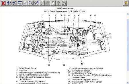 Astonishing 1996 Hyundai Accent Engine Diagram Wiring Diagram Wiring Cloud Onicaxeromohammedshrineorg