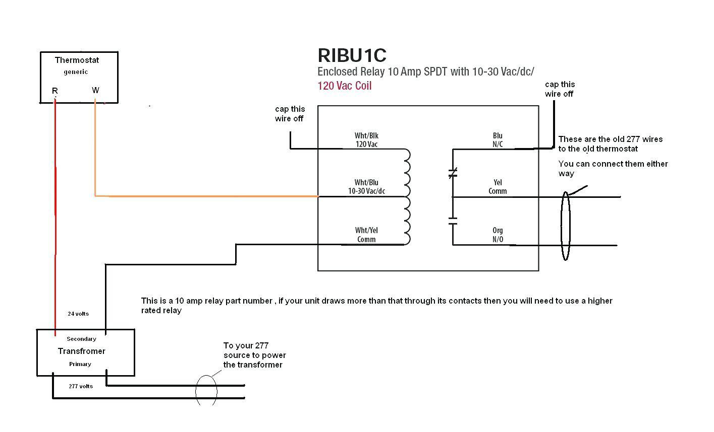Fan Relay Wiring Diagram Hvac