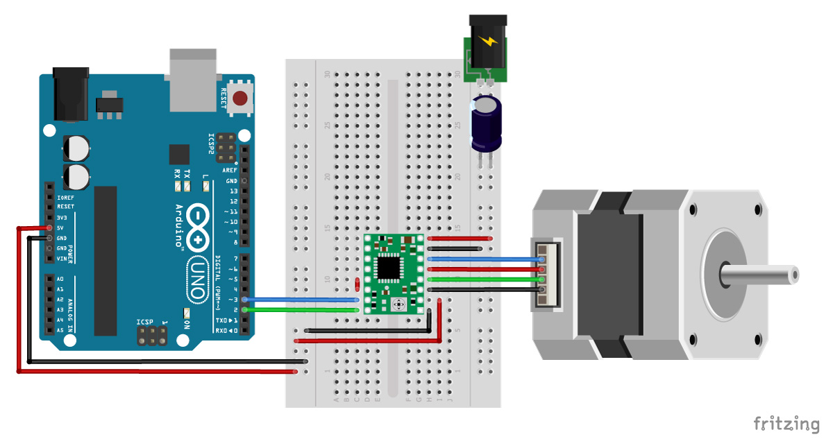 Wondrous How To Control Stepper Motor With A4988 And Arduino 4 Examples Wiring Cloud Loplapiotaidewilluminateatxorg