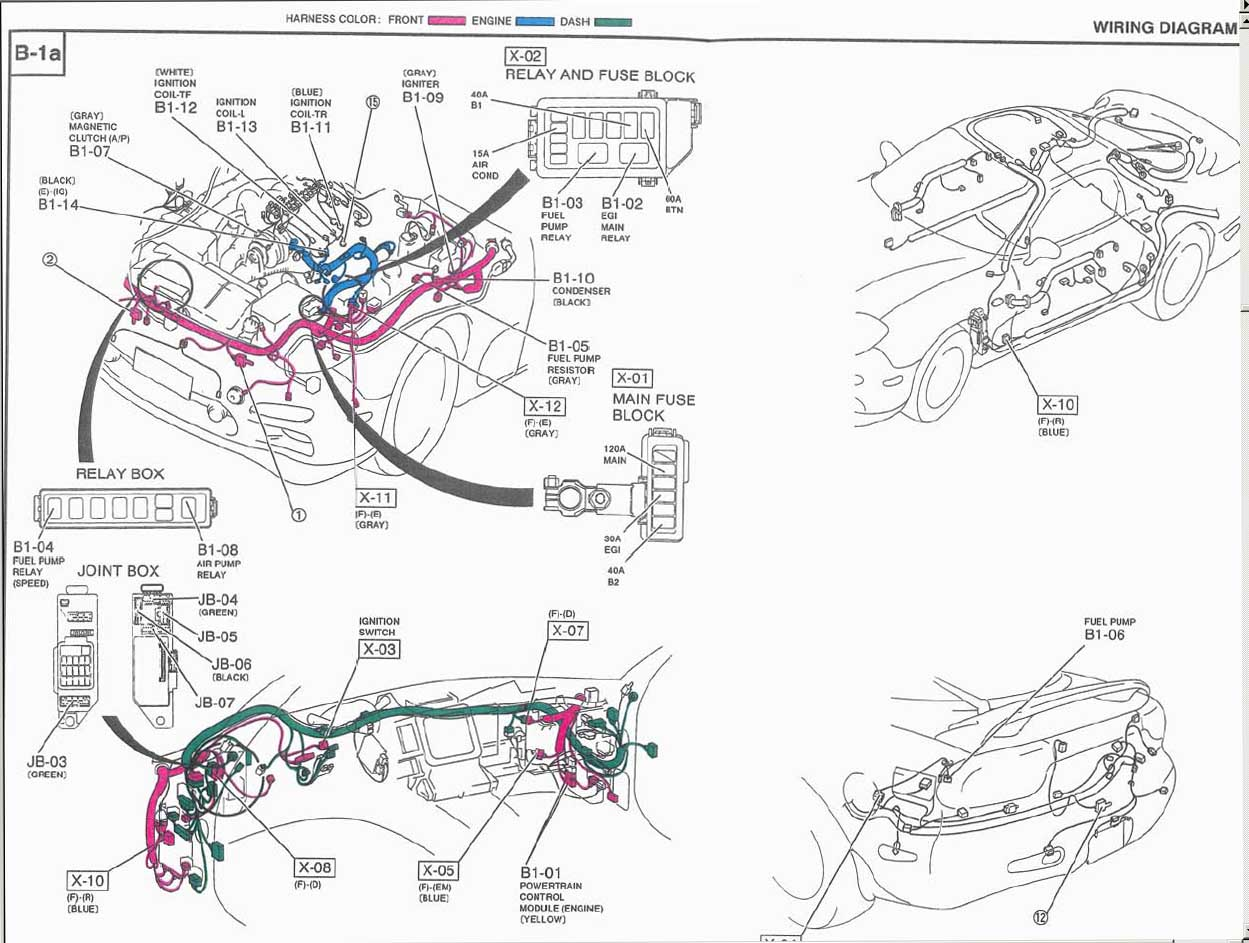 [SCHEMATICS_4CA]  83 Rx7 Engine Wiring Diagram - schematic wiring diagram | 1983 Mazda Rx7 Wiring Diagram |  | Index - schematic wiring diagram