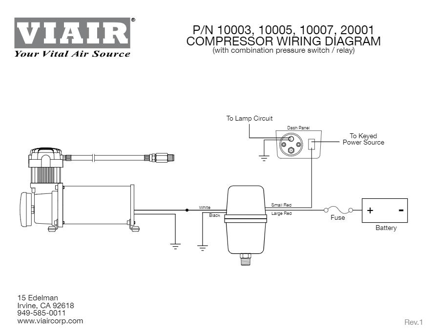 Sf 5872 Viair Compressor Pressure Switch Relay Wiring Diagram Wiring Diagram