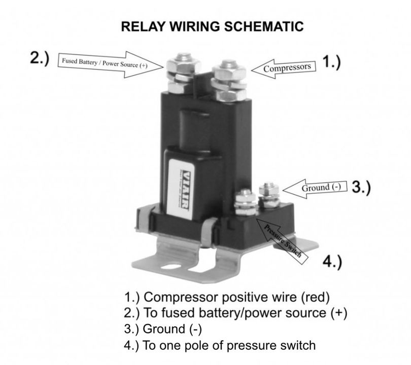 Prime Viair 90219 Sealed Pressure Switch 140 Psi On 175 Psi 30Amp With Wiring Cloud Licukosporaidewilluminateatxorg