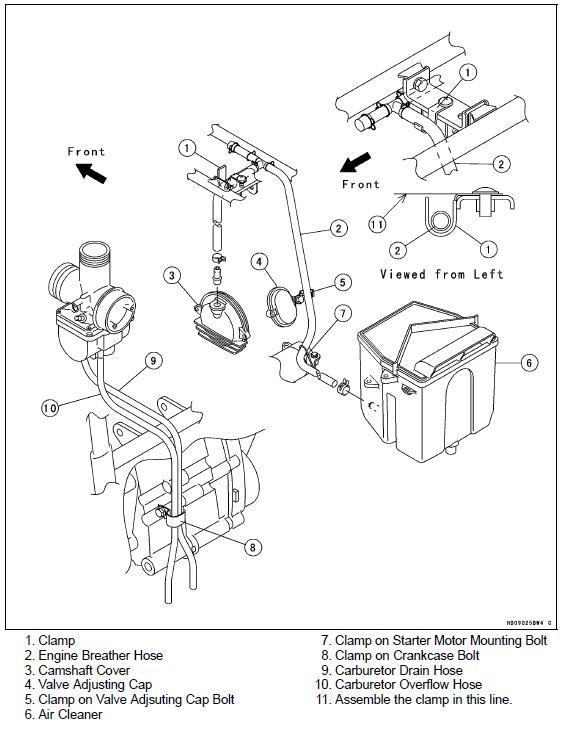 oo1827 bayou 250 carburetor adjustment kawasaki bayou 220
