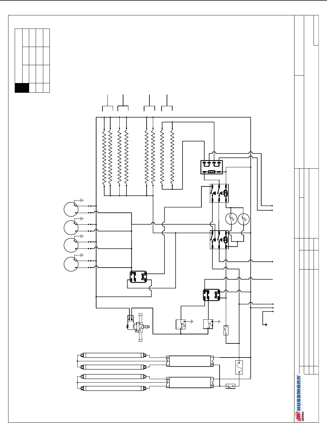 Hussmann Frezeer Wiring Diagram