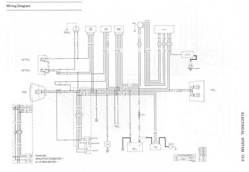 2006 kawasaki bayou 250 wiring diagram  wiring diagram