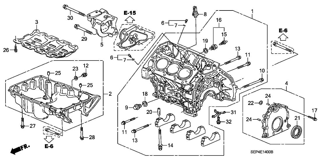 Td 0895  Acura Engine Parts Diagram Schematic Wiring
