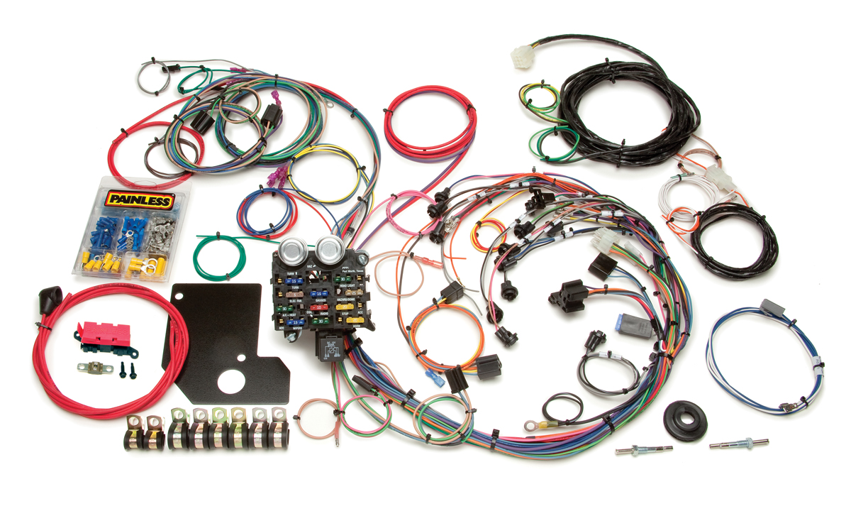 Astounding 21 Circuit Direct Fit 1966 67 Chevy Ii Nova Chassis Harness Wiring Cloud Licukshollocom