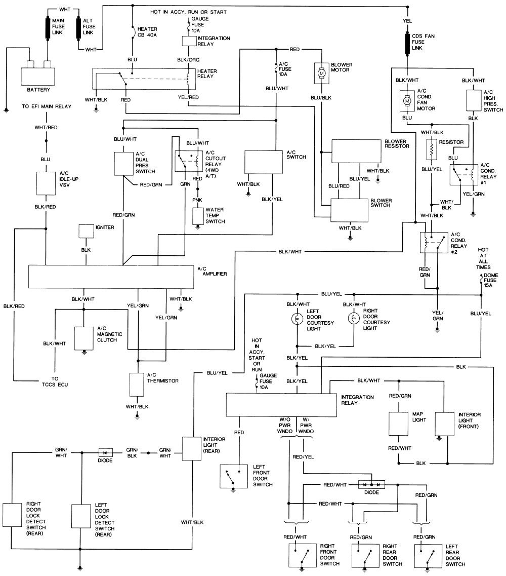 AX_2148] 1992 Toyota Pickup Wiring Diagrams Online Repair ManualsIntap Trons Inoma Unec Inkl Gho Caci Arch Dome Mohammedshrine Librar Wiring  101