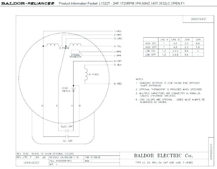 Mw 9728  Baldor Motor Wiring Connections Schematic Wiring