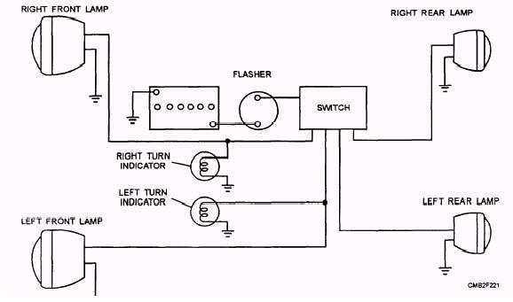 simple turn signal schematic zd 0786  simple turn signal diagram wiring diagram  simple turn signal diagram wiring diagram