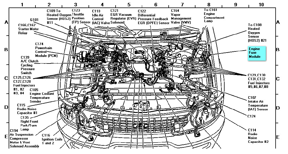 2000 ford expedition engine diagram  wiring diagram meet