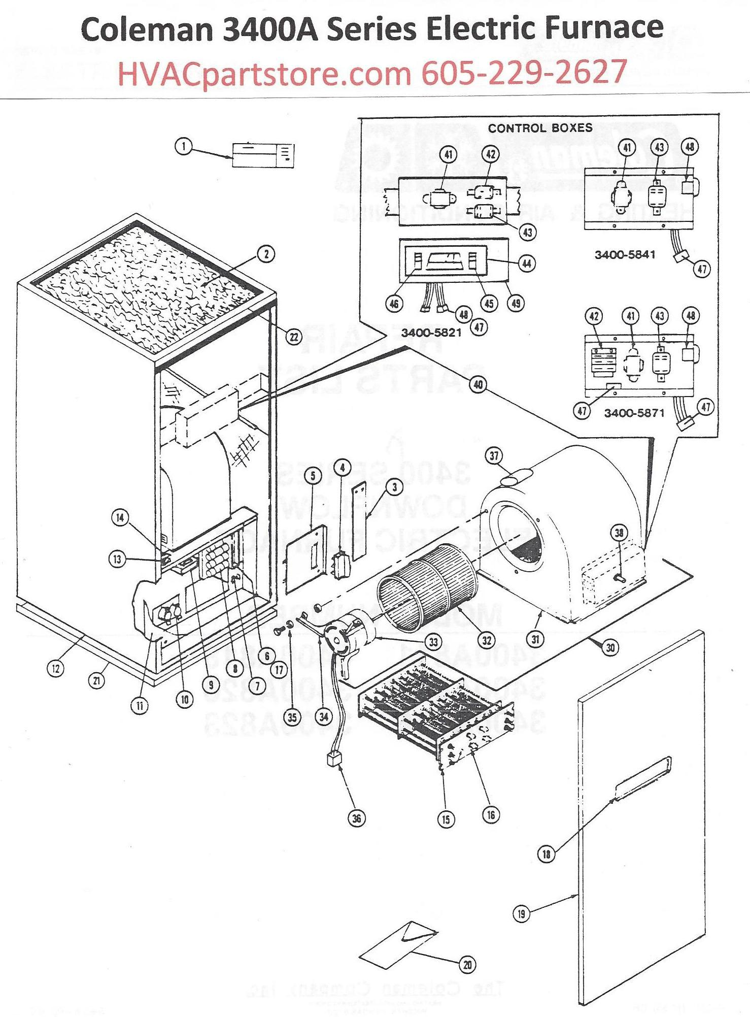 Electric Furnace Wiring Diagrams View