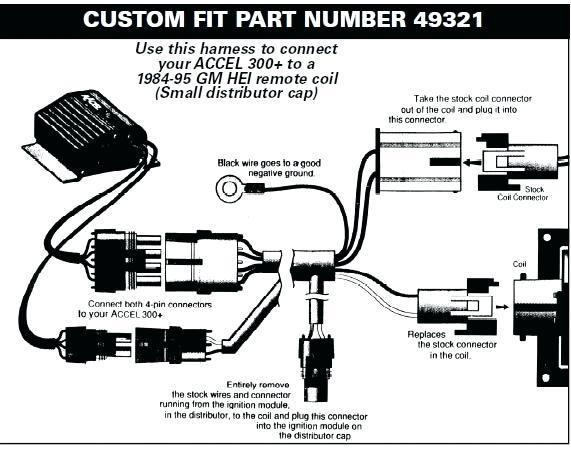 wiring diagram accel distributor